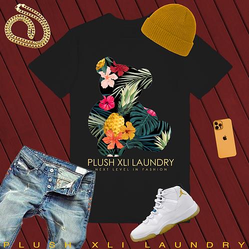 Island Teddy | T-shirt (White, Black)