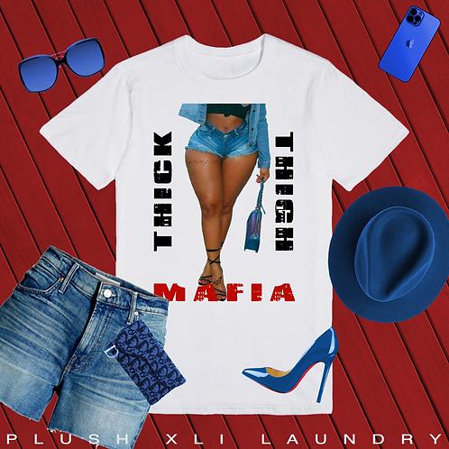Thick Thigh Mafia | T-shirt (White)