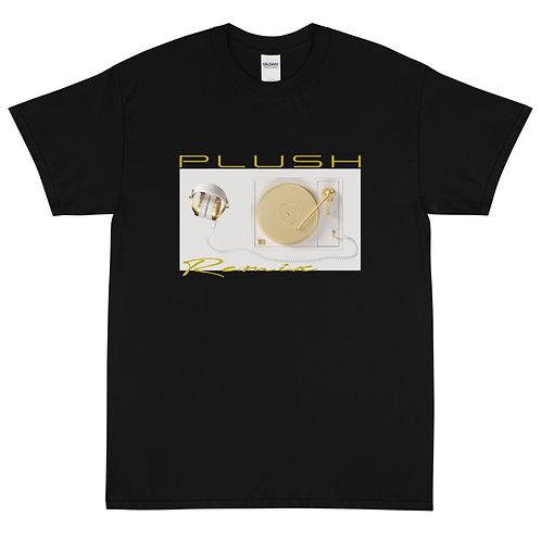 Plush Radio   T-Shirt (Black, Gold   White, Gold)