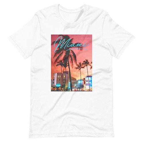 Miami Vice | T-shirt | (White | Black)