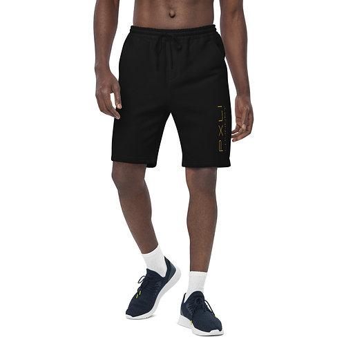 PXLI | Men's Shorts (Black, White)