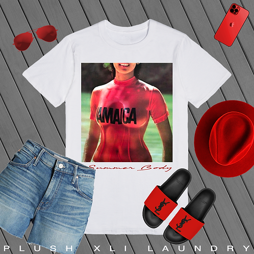 Baby, you Summer Time Fineee | T-shirt (White, Black)