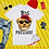 Thumbnail: Big Pressure! Teddy   T-shirt (White)