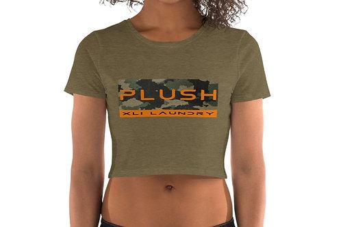 Plush Army   Crop Tee-shirt (Olive, Camo   White, Camo)