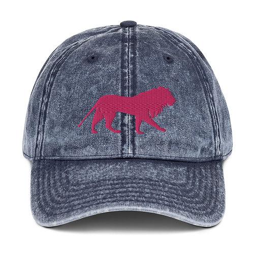 Roar - Pink | Dad Hat (Denim)