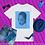 Thumbnail: Sade Adu.   T-Shirt (White, Blue)