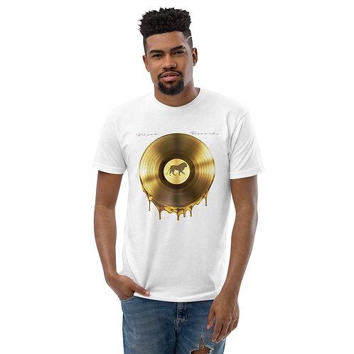 Plush Records   T-shirt (White, Gold)