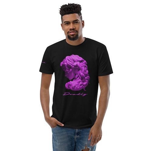 muh·doo·suh T-shirt (Black/Purple, White/Purple)