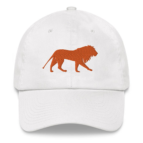 Roar - Orange   Dad Hat (White, Camo)
