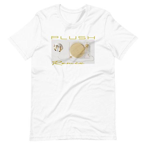 Plush Radio   T-Shirt (White, Gold   Black, Gold)