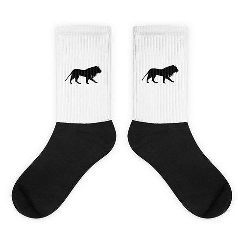 Roar   Socks (White, Black)