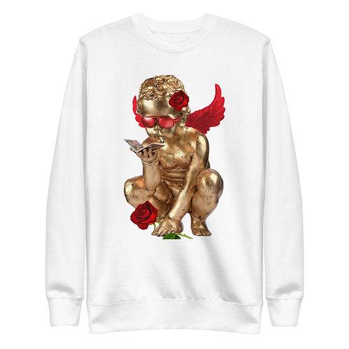 Rose Angel   Sweatshirt   (White)