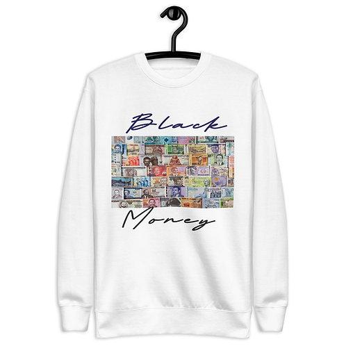 The Black Money   Sweatshirt (White)