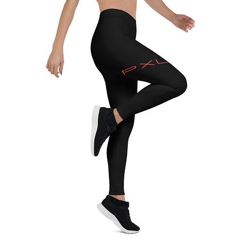 PXLI | Leggings (Black, Red)