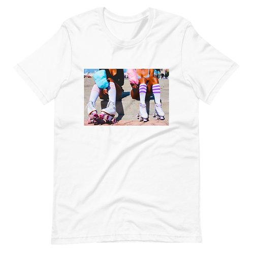 Derby Girl!   T-shirt (White   Black)