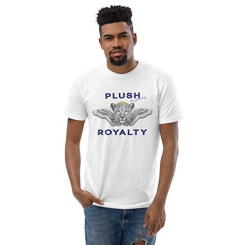 R• O•Y•A•L•T•Y 👑T-shirt (White, Blue)