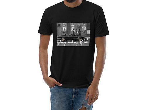 Money Making Mitch   T-Shirt (White, Gray   Black, Gray)