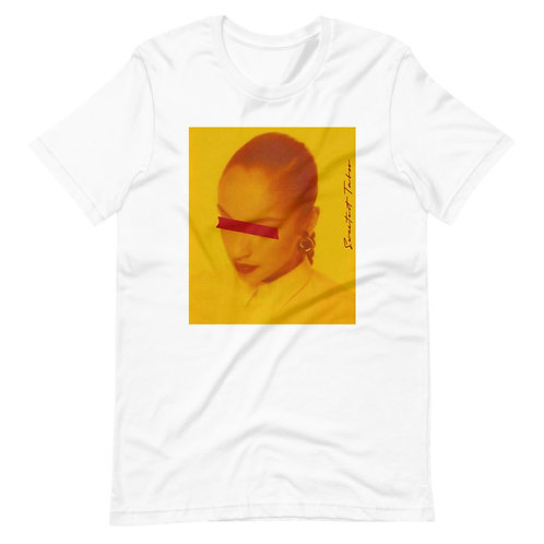 Blinded by Love Songz | T-Shirt (White, Gold)