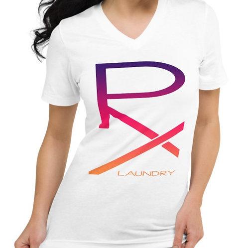 PX |  V-Neck T-Shirt | White