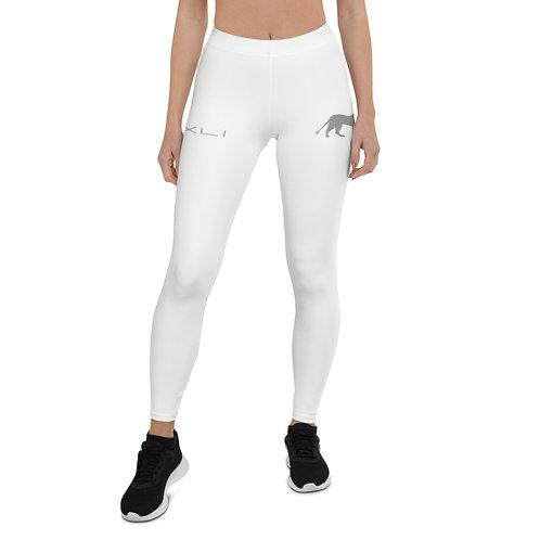 PXLI Roar | Leggings (White, Gray)