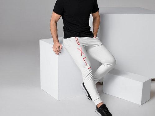 PXLI II    Joggers (White, Red)