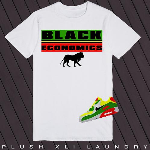 Black Economics | T-shirt (White)