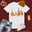 Thumbnail: Bottoms Up | T-Shirt (White, Brown | Black, Brown)