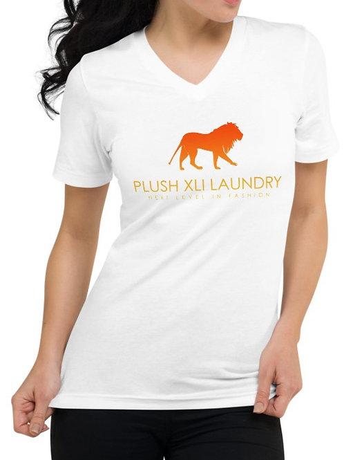 Plush XLI Laundry | V-Neck T-shirt (White)