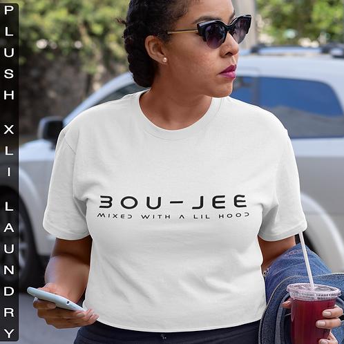 BOU - JEE | T-Shirt (White, Black)