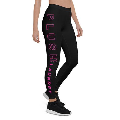 PLUSH XLI LAUNDRY   Leggings (Black, Pink)