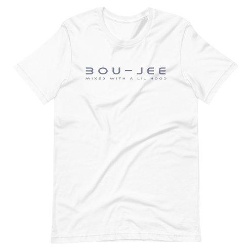 BOU - JEE | T-Shirt (White, Gray | Black, Gray)