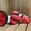 Thumbnail: Plush XLI Laundry | Off-Court Slides (Black, White | Red, White)