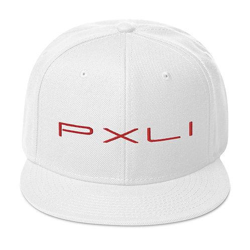 PXLI Snapback (White, Red   Black, Red)
