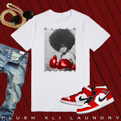 Black Couture - Red Gloves | T-Shirt (White | Red)