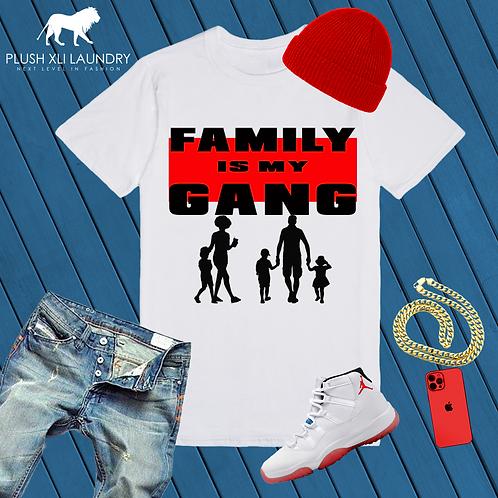 Family Gang   T-Shirt (White)