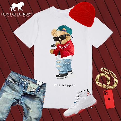Hip-Hop Teddy | T-shirt (White)