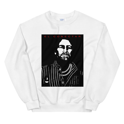 Connections. | Sweatshirt | (White | Black | Red)
