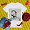 Thumbnail: Such a fine day,  to be fine | T-shirt (White | Black, Red)
