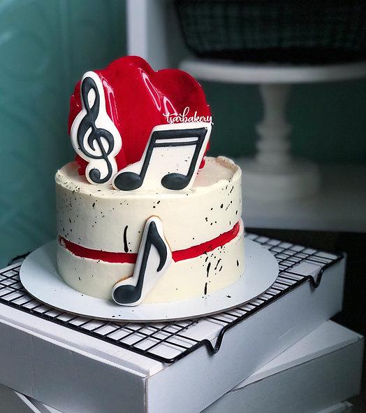 Торт для музыканта