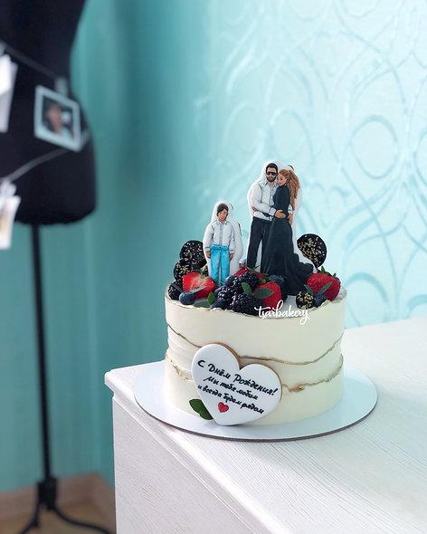 Торт семейный