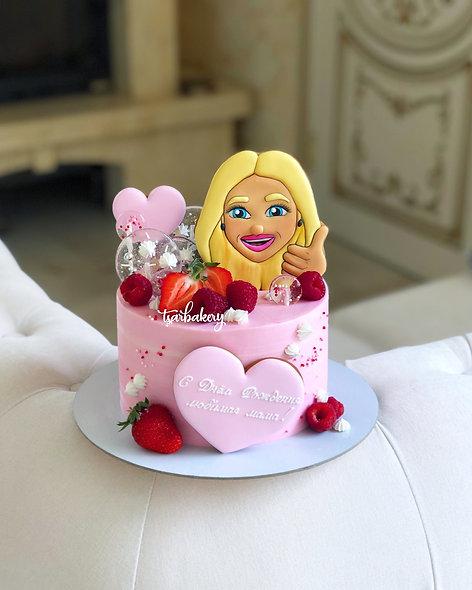 Торт с Memoji