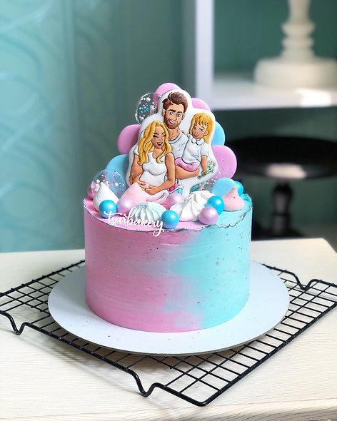 Торт Boy or Girl: на определение пола малыш