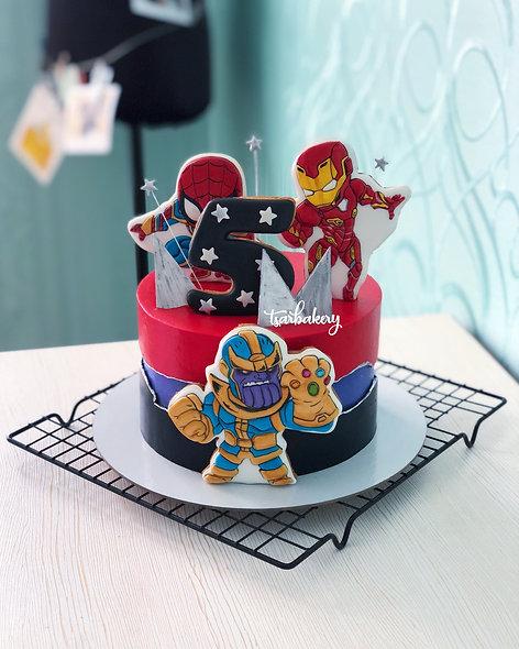 Торт супергерои: Мстители