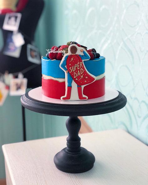 Торт Super Dad