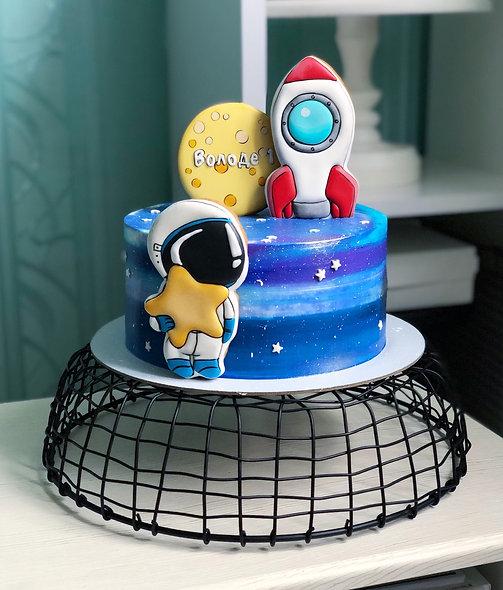 Торт космос для малыша