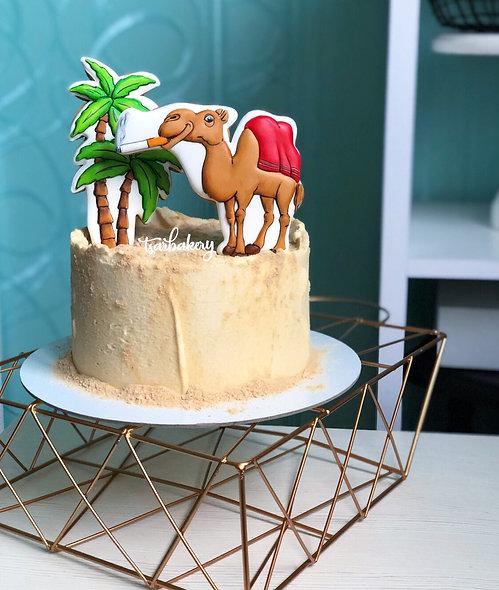 Торт с верблюдом Camel