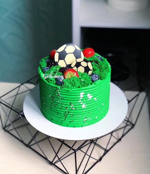 Торт для футболиста