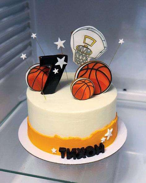 Торт баскетболисту