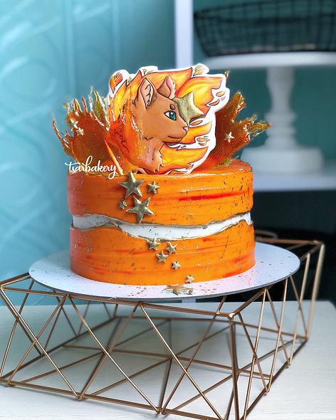 Торт Коты-воители