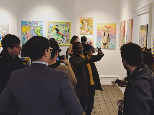 EUREKA MOMENTS UNVEILED AT LONDON'S ARIA ART GALLERY